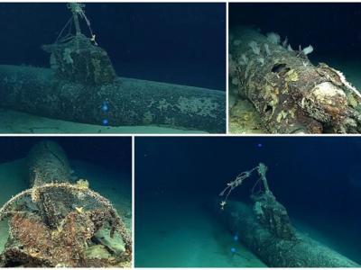偷袭美国珍珠港秘密武器 日本袖珍潜艇水底面貌曝光