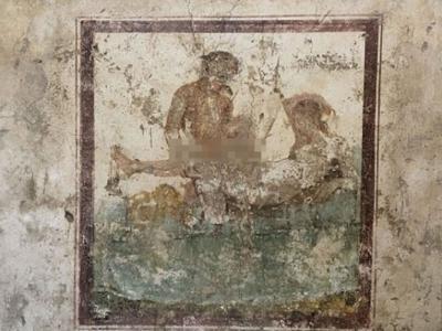 意大利庞贝古城妓院性爱壁画 揭示妓女服务内容