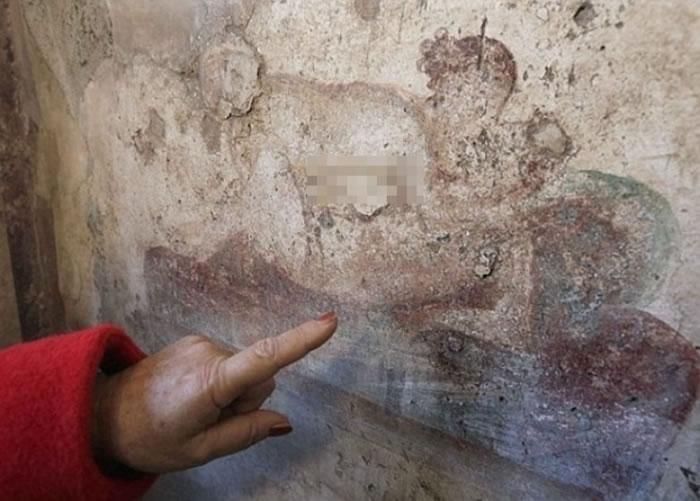 奥尔森认为性爱壁画有指示作用。