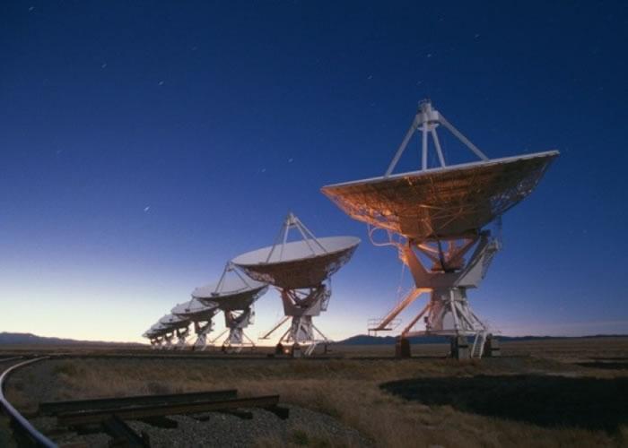 位于美国的射电望远镜。