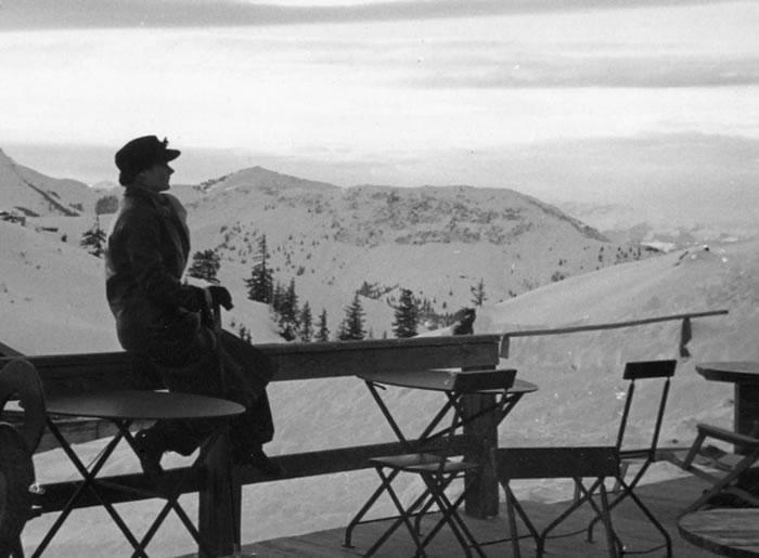 1938年身处奥地利的霍林沃思。