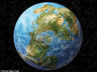 2.5亿年后地球将出现超级大陆阿美西亚(Amasia) 各大洲都会合并