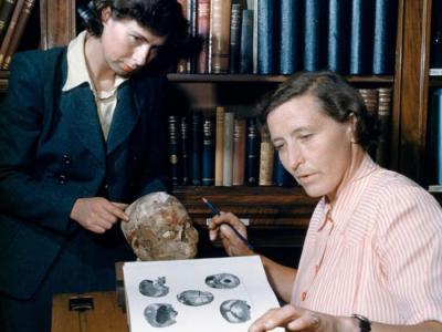 科学家藉由数位影像科技还原九千五百年前杰里柯头骨(Jericho Skull)主人模样