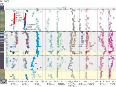 新元古代晚期古海洋仍存在海水分层和间歇氧化