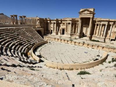 """回教极端组织""""伊斯兰国""""大肆破坏敍利亚古城巴尔米拉 古罗马圆形剧场受损"""
