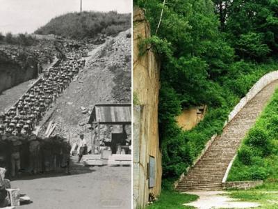 奥地利毛特豪森纳粹集中营解密 囚犯日爬死亡之梯12小时