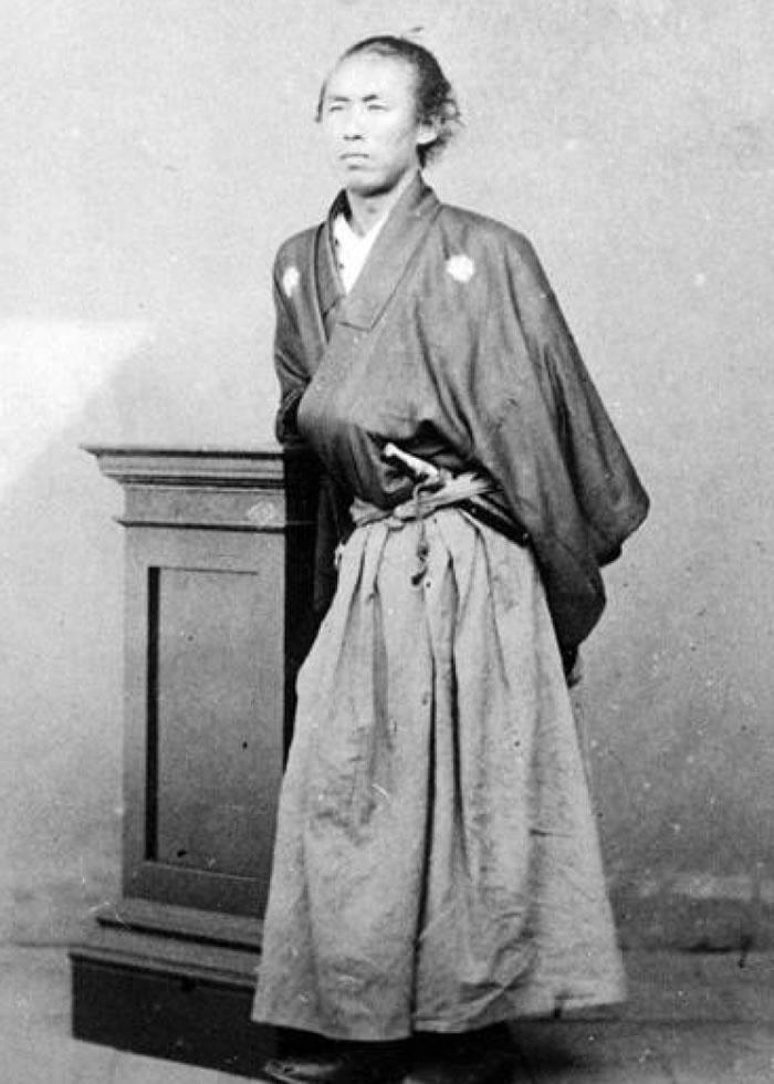 阪本龙马是日本维新志士。