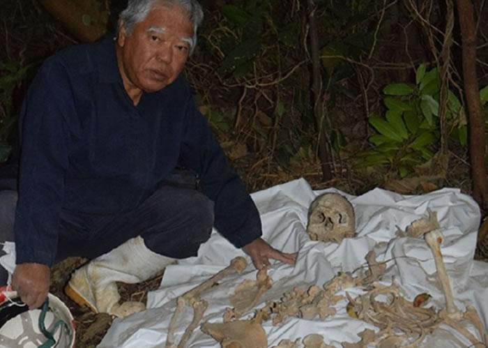 松光永雄表示,该副完整遗骨很珍贵。