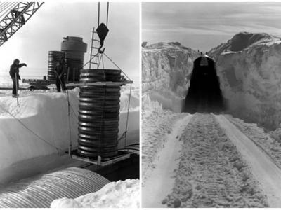 格陵兰融冰加剧 冷战美国核基地辐射泄漏风险增