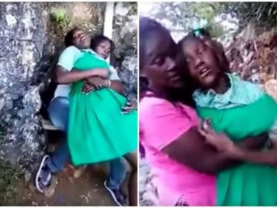 牙买加女童疑撞邪 不断尖叫挣扎踢腿