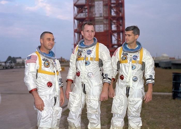 左起:葛利森、怀特、查菲。