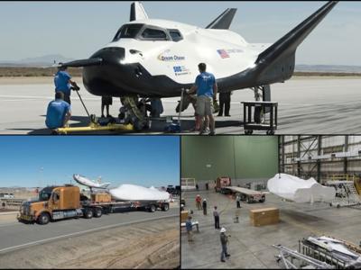 """美国迷你航天飞机""""追梦者""""接受测试 后年运物资到国际空间站"""