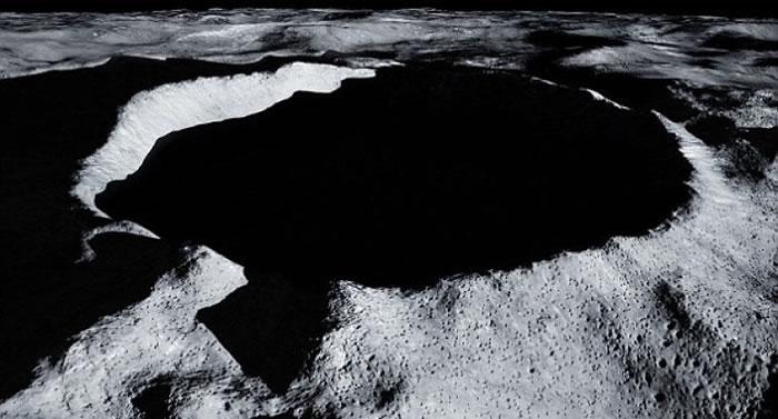 """""""月球神殿""""将落户南极的沙克尔顿坑。"""