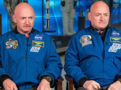 """美国NASA双胞胎宇航员""""天地实验""""发现太空会对人体DNA产生影响"""
