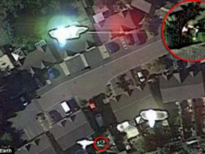 英国UFO发烧友称被外星人绑架 Google卫星图像是铁证
