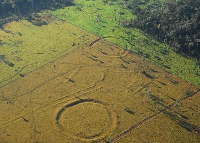 研究员掘出泥土化验,一探巨阵究竟。