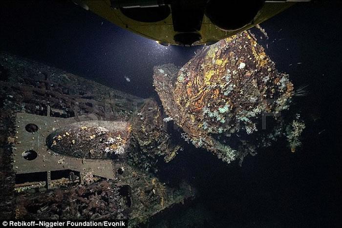 二战遭英国海军击沉的纳粹德军U型潜艇U-581残骸 揭船长Walter Sitek的逃亡故事