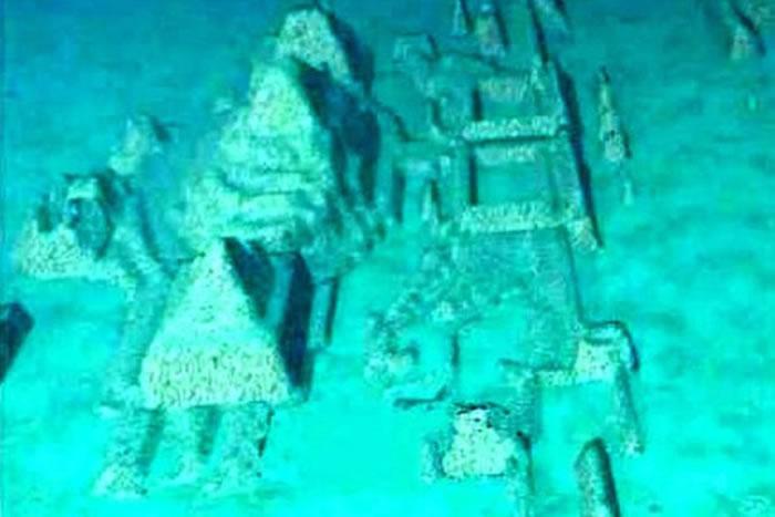 水下城市被认为可能是亚特兰蒂斯迷城。
