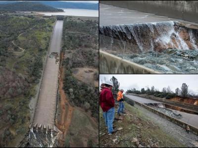 美国最长水坝现缺口 三文鱼孵化场被淹没