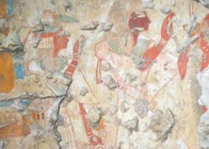 估计墓穴是属于古埃及某一名法老的书记官。