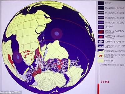 """印度与马达加斯加之间的印度洋海底发现疑是失落的""""毛里提亚""""(Mauritia)古大陆"""