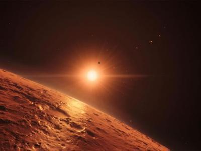 距离地球仅39光年的地方发现新的太阳系TRAPPIST-1 七颗类地行星环绕