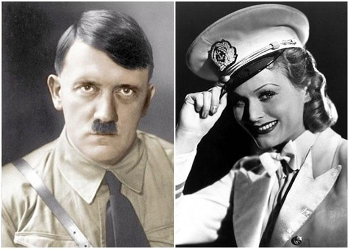 勒克(右图)备受希特勒(左图)青睐。