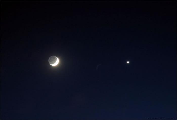 2017年3月1日金星合月