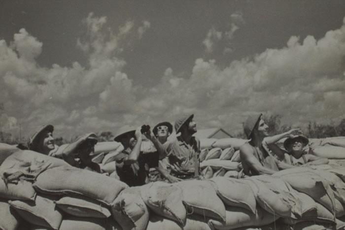 日军二战空袭澳洲旧照揭战争残酷