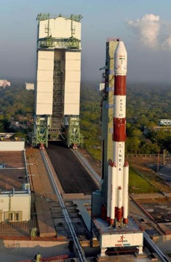 火箭搭载的卫星数量破了世界纪录。