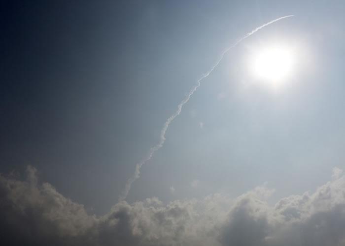 火箭顺利升空。