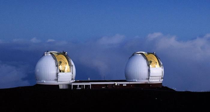 今次发现由凯克望远镜观察所得。