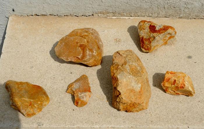 浙江绍兴出土旧石器时代石器 将当地人类历史往前推了10万年