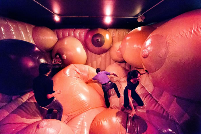 「享乐地:情欲乐园之乐与忧」(Funland: Pleasures and Perils of the Erotic Fairground)在纽约市巡回特展里,