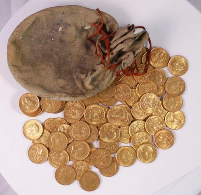 """当局未有透露金币值多少钱,但指""""足以改变人一生""""。"""