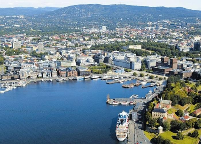 挪威成为全球最快乐的地区。图为挪威首都奥斯陆。