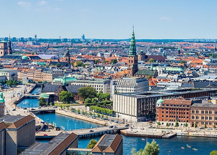丹麦的快乐水平比去年下跌。图为丹麦首都哥本哈根。