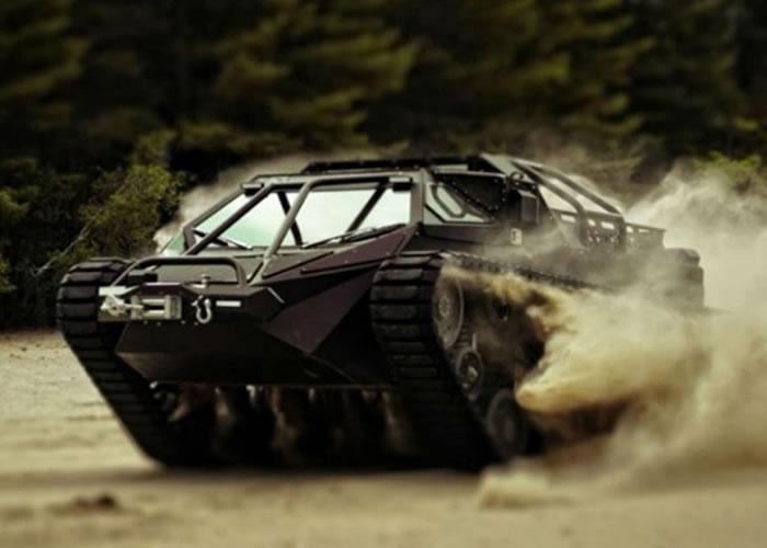 """美国军火商测新形轻坦克""""切锯""""(Ripsaw) 有望成为美军未来新战力"""