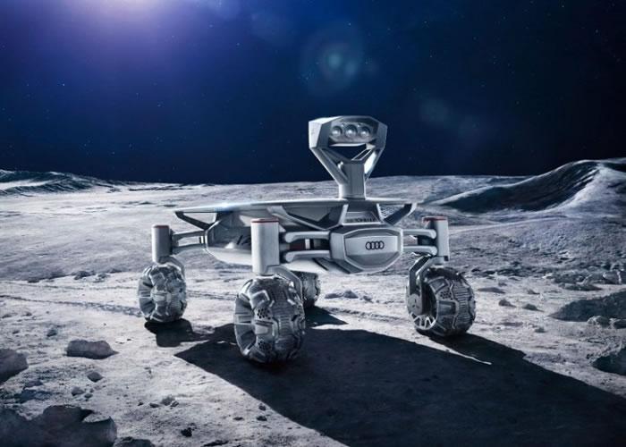 探测车将会搜索月面。