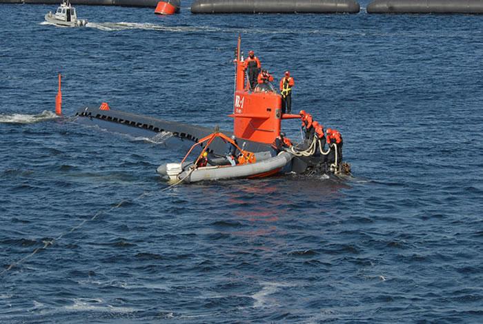 """世界上最小的核潜艇:美国海军""""内尔温号""""(Nerwin)NR-1"""