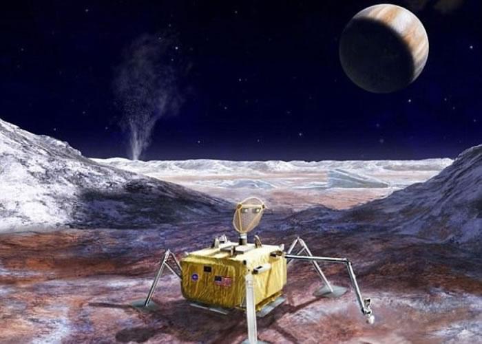 NASA将勘探欧罗巴。