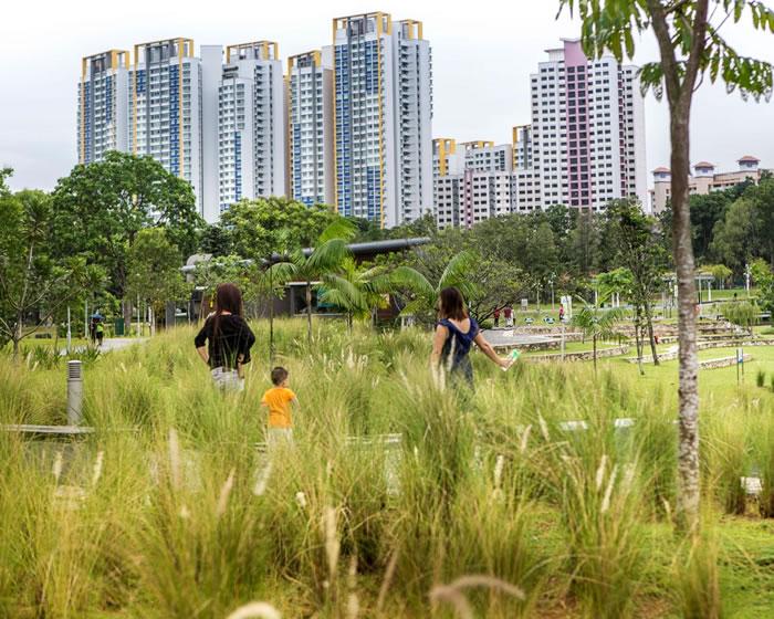 新加坡如何实现人口稠密的宜居城市