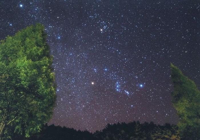 福岛县是观星胜地。