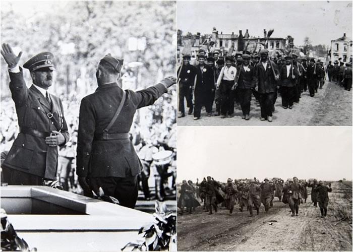 该批二战照片不少是前所未见,还原了二战的历史。