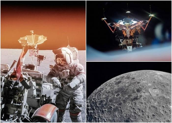 新书收录多张从未曝光的阿波罗登月计划照片。