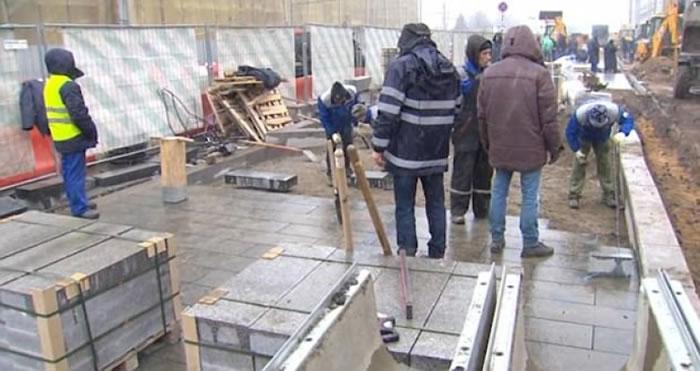 间谍房在莫斯科的建筑工程中被发现。
