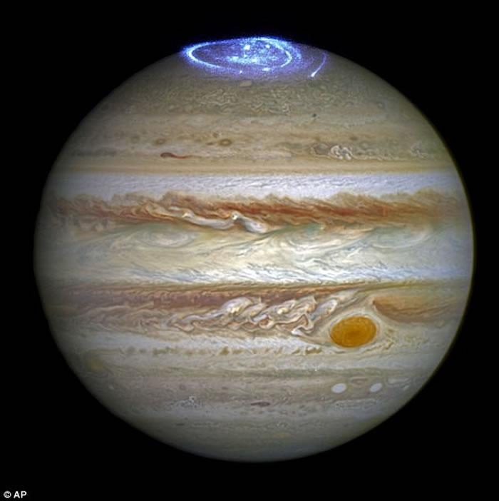 英国科学家透过智利天文望远镜发现木星上层大气有比