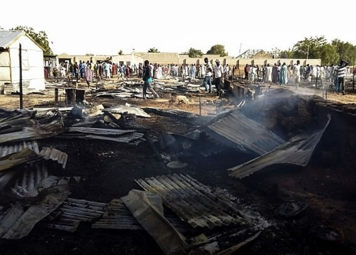 尼日利亚频频遇袭。(资料图片)