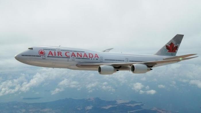 图为加拿大航空公司的一架客机。(资料图片)