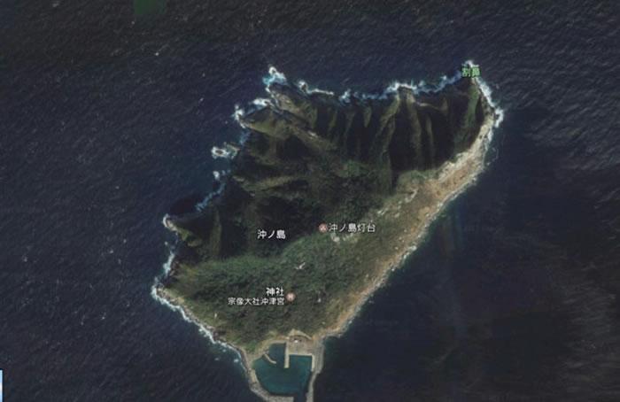 日本冲之岛有望成为世界文化遗产之一。